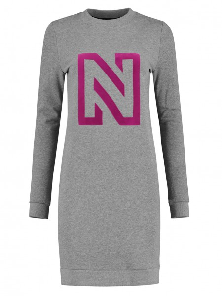 N Logo Flock Sweatdress