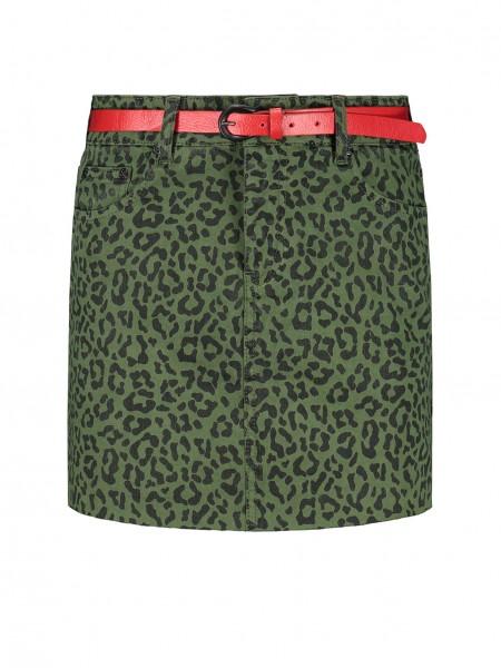 Birdy Leopard Skirt
