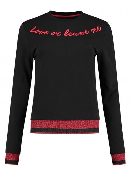 Love Or Leave Me Sweater